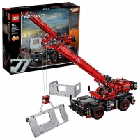 Konstruktorius Lego Technic 42082 Конструктор Подъёмный кран для пересечённой местности LEGO ir kiti konstruktoriai vaikams