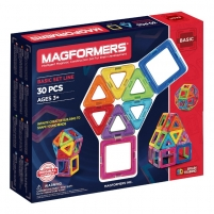 Konstruktorius MAGFORMERS 701005 Magformers 30 set LEGO ir kiti konstruktoriai vaikams