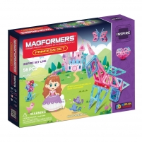 Konstruktorius MAGFORMERS 704003 Princess set 56P