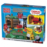 MEGA BLOKS 10549 THOMAS AND FRIENDS Working hard at the Sodor Steamworks Lego bricks and other construction toys