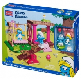 Konstruktorius Mega Bloks 10746 Smurfs Playground