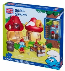 Konstruktorius Mega Bloks 10752 Papa Smurfs House LEGO ir kiti konstruktoriai vaikams