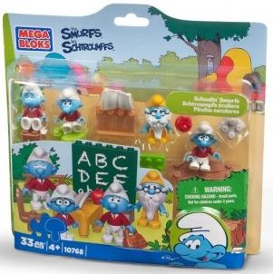 Mega Bloks 10768 Schoolin`s Smurfs Lego un citas konstruktors