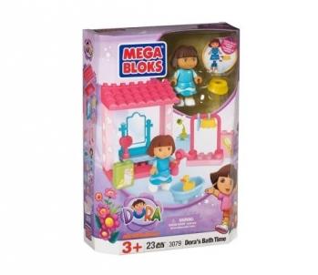 Konstruktorius MEGA BLOKS 3079 Dora`s Bath Time LEGO ir kiti konstruktoriai vaikams