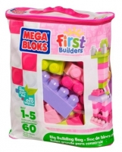 Konstruktorius Mega bloks komplekts 8417 First Builders 60 pcs