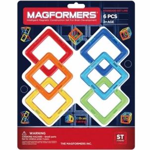 Konstruktorius MF6 Square 6pcs set LEGO ir kiti konstruktoriai vaikams