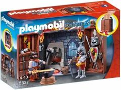 Konstruktorius Playmobil 5637 Knights Armoury Play Box - Multi-Colour