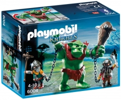 Konstruktorius Playmobil 6004 Giant Troll with Dwarf Fighters