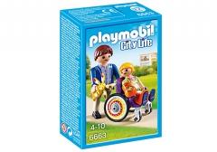 Konstruktorius Playmobil 6663 City Life Child in Wheelchair