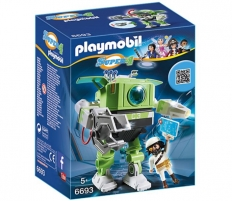 Konstruktorius Playmobil 6693 Super 4 Cleano Robot