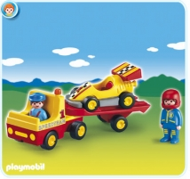 Konstruktorius Playmobil 6761 Tow Truck with Race Car Lego bricks and other construction toys