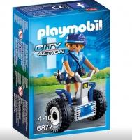 Konstruktorius Playmobil 6877 Polizistin mit Balance-Racer