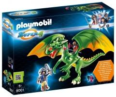 Konstruktorius Playmobil 9001 Super 4 Kingsland Dragon with Alex and LED Fire Effects
