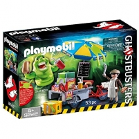 Konstruktorius Playmobil 9222 Ghostbusters Hot Dog Stand with Slimer