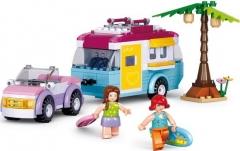 Konstruktorius Sluban Girls Dream M38-B0606 Lego bricks and other construction toys