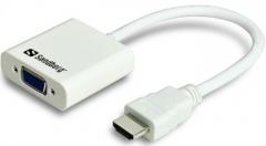 Konverteris Sandberg HDMI/VGA
