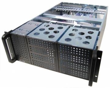 Korpusas Chieftec IPC 4U series UNC-410F-B, 400W PSU (PSF-400A)
