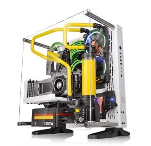 Korpusas kompiuterio THERMALTAKE Core P3 Snow Edition