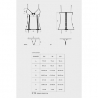 Korsetas Auroria (XL/XXL) Sexy corsets