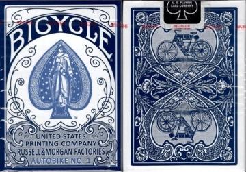 Kortos Bicycle AutoBike No. 1 (Mėlynos)