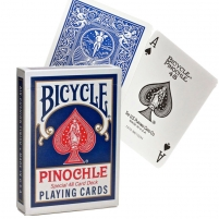 Kortos Bicycle Pinochle (Mėlynos)