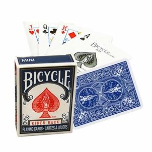 Kortos Bicycle Rider Back Mini (Mėlynos) Žaidimai, kortos