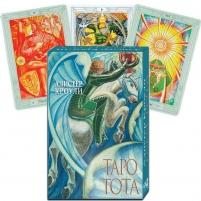 Kortos Taro Kortos Aleister Crowley Thoth (rusų kalba)