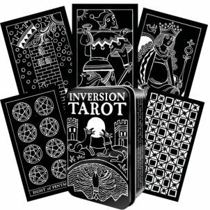 Kortos Taro kortos Inversion skardinėje dėžutėje Žaidimai, kortos