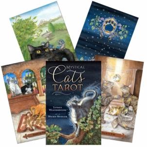 Kortos Taro Kortos Mystical Cats Tarot