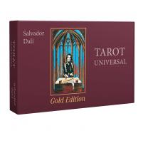 Kortos Taro Kortos Salvador Dali Tarot Universal - Gold Edition 2018