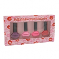 Cosmetic set 2K Nails With A Kiss Nail Polish Kit Cosmetic 6ml