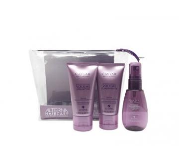 Kosmetikos rinkinys Alterna Travel Kit Hair Care Caviar Volume (Travel Trio) Косметические наборы