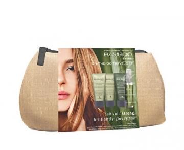 Kosmetikos rinkinys Alterna Travel set for a brilliant shine Bamboo Shine Kosmetikos rinkiniai