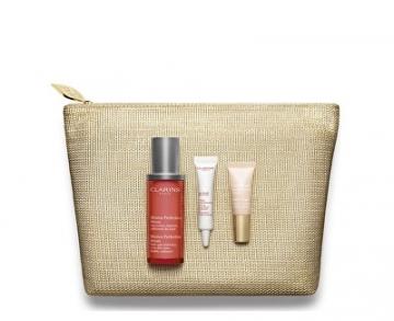 Kosmetikos rinkinys Clarins Gift Set for flawless skin Mission Perfection Kosmetikos rinkiniai