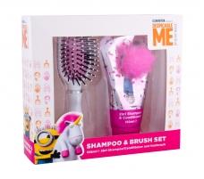 Kosmetikos rinkinys Minions Unicorns Shampoo 150ml Kosmetikos rinkiniai