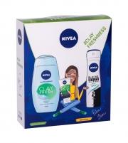 Kosmetikos rinkinys Nivea Clay Fresh Ginger & Basil Shower Gel 250ml Kosmetikos rinkiniai