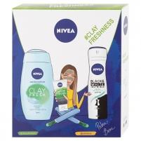 Kosmetikos rinkinys Nivea Clay Freshness