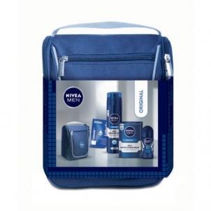 Kosmetikos rinkinys Nivea Men Mild After Shave Balm Kit Cosmetic 355,5ml Kosmetikos rinkiniai