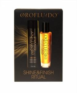 Kosmetikos rinkinys Orofluido Shine Finish Ritual   125 ml Kosmetikos rinkiniai