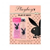 Kosmetikos rinkinys Playboy Play It Sexy Deodorant 150ml Kosmetikos rinkiniai