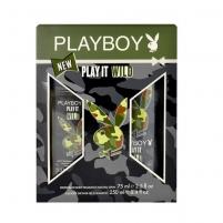Kosmetikos rinkinys Playboy Play It Wild Deodorant 75ml Kosmetikos rinkiniai