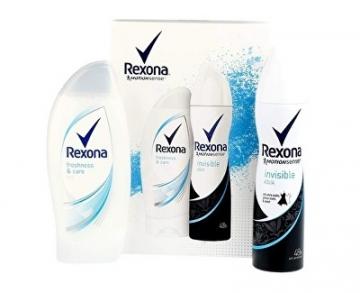Kosmetikos rinkinys Rexona Gift Set for Women Invisible Aqua Kosmetikos rinkiniai