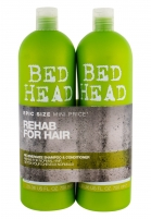 Tigi Bed Head Re-Energize Shampoo Cosmetic 2x750ml Cosmetic kits