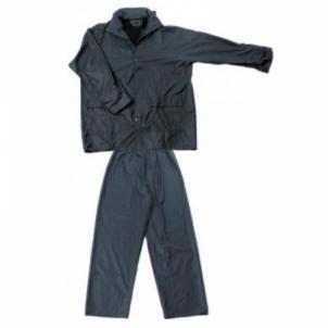 Kostiumas nuo lietaus PU mėlynas RPDB Darba tērpi