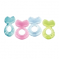 Kramtukas Fish shaped teether with bristles with case