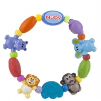 Kramtukas Safari Friends Teether Necklace