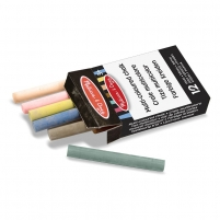 Kreidelės Multi-Coloured Chalk 12pcs.
