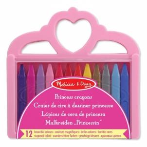 Kreidelės Princess Crayon Set