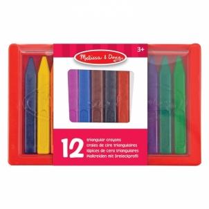Kreidelės Triangular Crayon Set 12pcs.