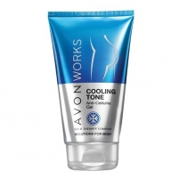 Kremas Avon Cold Therapy Avon Works (Cooling Tone Anti- Celluli te Gel) 150 ml Stangrinamosios ķermeņa kopšana